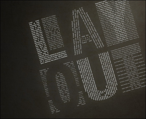 typographic-art