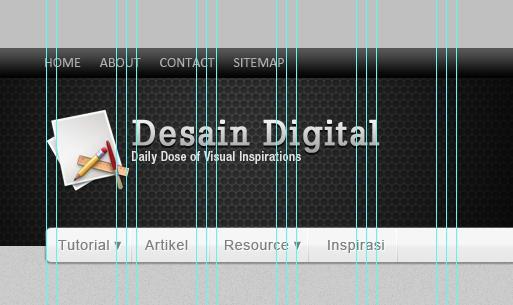 Mendesain Blog Elegan dengan Photoshop