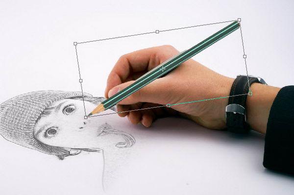 Membuat Gambar Sketsa dari Foto
