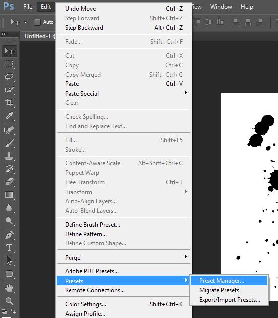 Membuat Brush Custom di Photoshop
