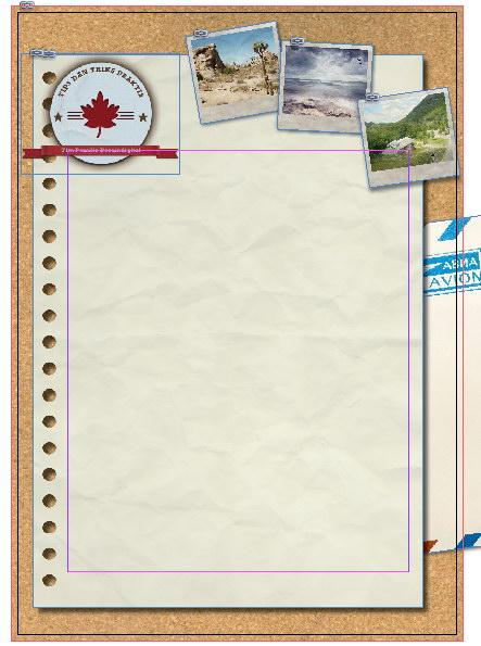 Membuat Layout Artikel bergaya Scrapbook dengan Photoshop dan InDesign