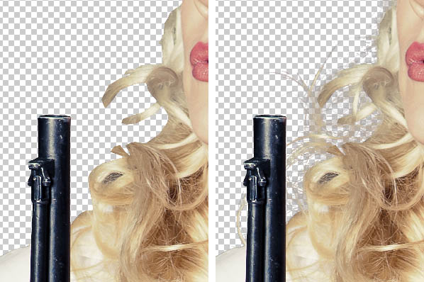 Seleksi Rambut di Photoshop