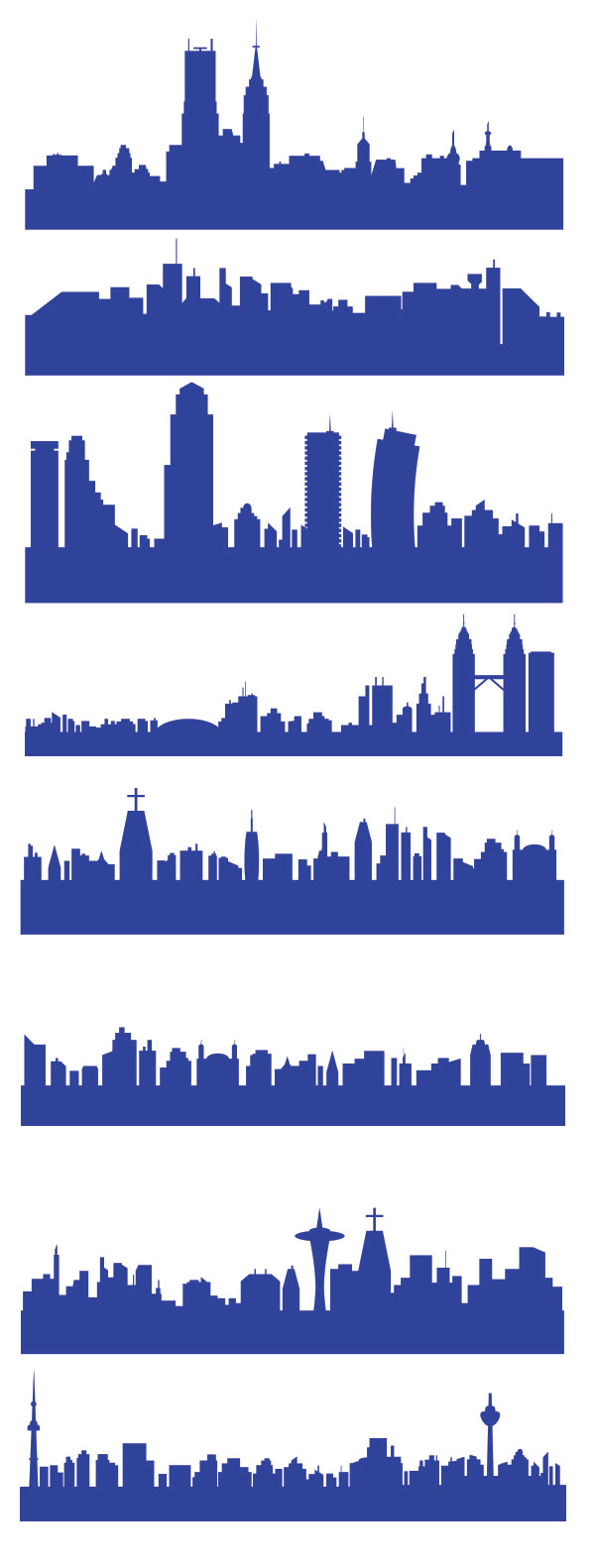 free-vector-city-skylines
