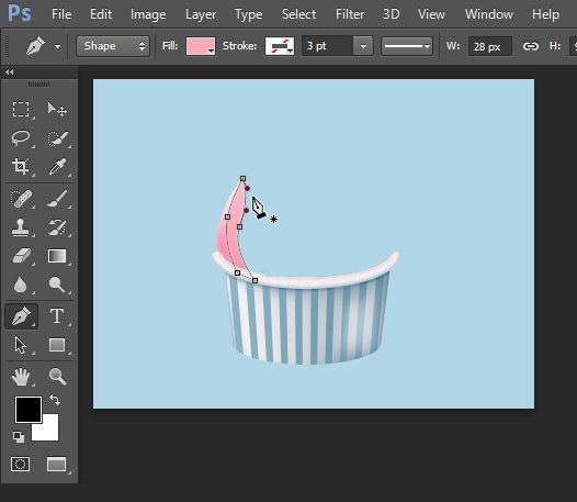 tutorial-menggambar-ikon-es-krim-Photoshop-3