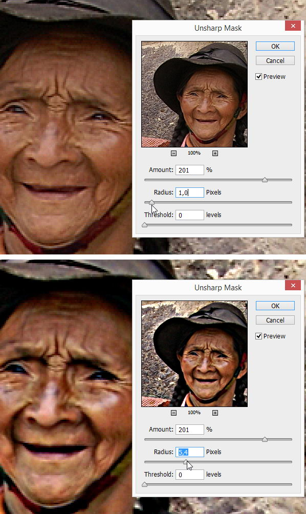 Tutorial Photoshop - Teknik menajamkan gambar