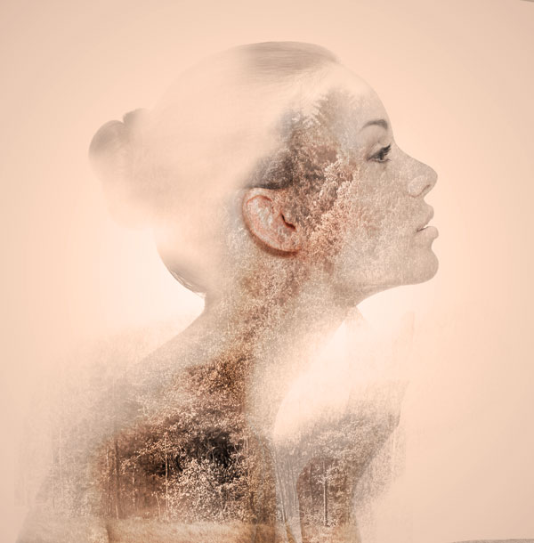 Tutorial Photoshop-Mendesain Efek Photo Double Exposure