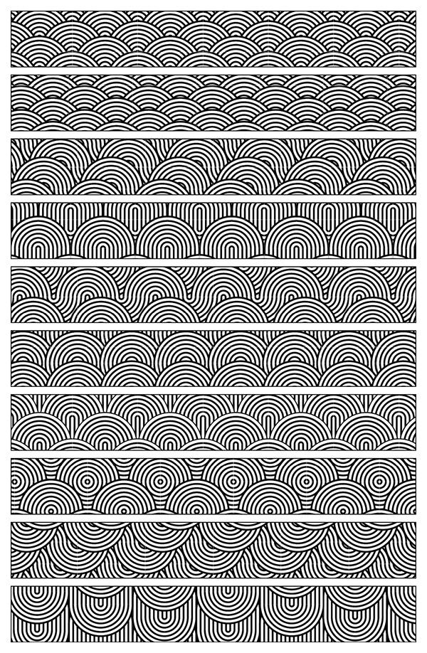japanese-wave-pattern