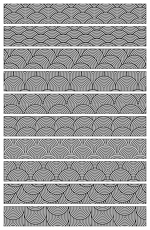 japanese-wave-pattern