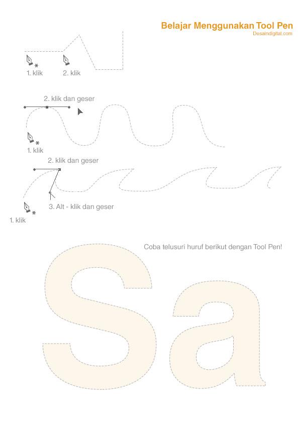 Gunakan panduan ini untuk belajar Tool Pen.