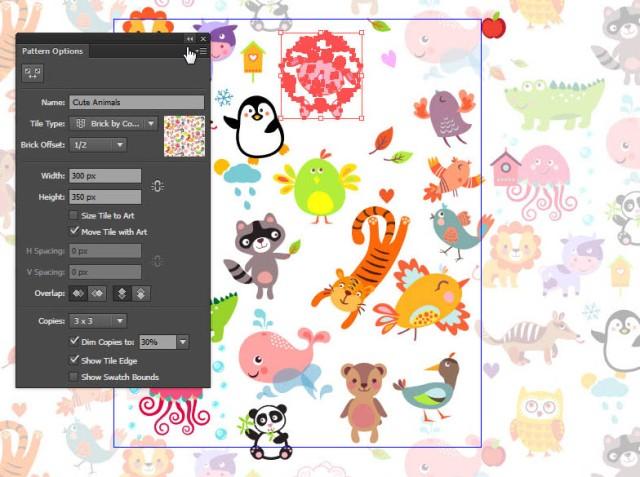 tutorial-pola-seamless-cute-animals-09