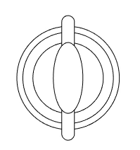 Bentuk dasar globe.