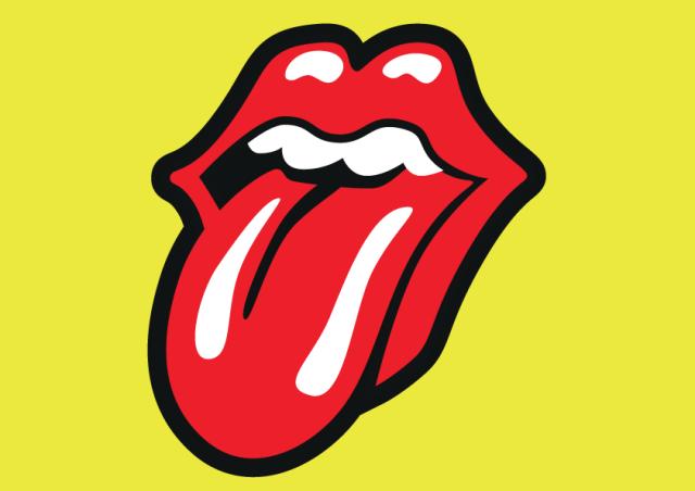 Logo ikonik The Rolling Stones