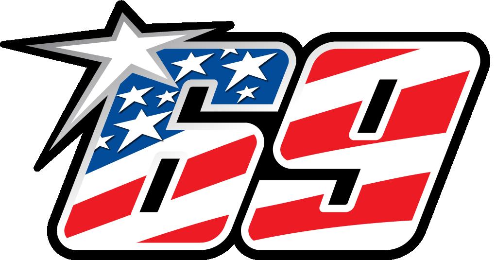Logo Nicky Hayden 69-v2