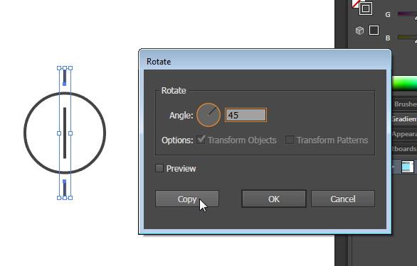 Tutorial Cara Menggambar Ikon Vektor Mesin Cuci dengan Adobe Illustrator-13