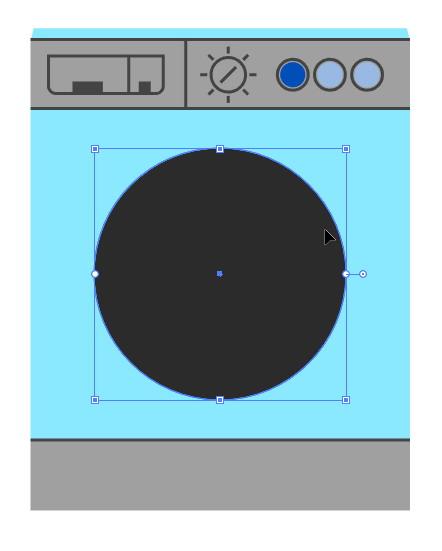 Tutorial Cara Menggambar Ikon Vektor Mesin Cuci dengan Adobe Illustrator-21