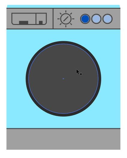 Tutorial Cara Menggambar Ikon Vektor Mesin Cuci dengan Adobe Illustrator-23