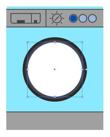 Tutorial Cara Menggambar Ikon Vektor Mesin Cuci dengan Adobe Illustrator-24