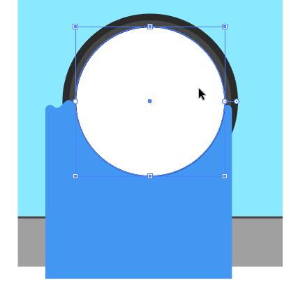 Tutorial Cara Menggambar Ikon Vektor Mesin Cuci dengan Adobe Illustrator-37