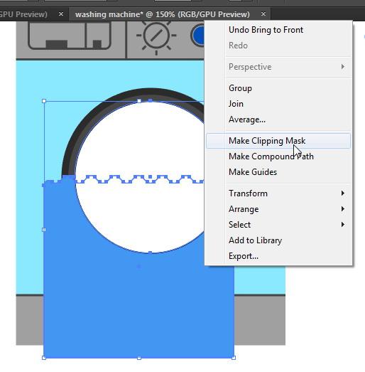 Tutorial Cara Menggambar Ikon Vektor Mesin Cuci dengan Adobe Illustrator-38