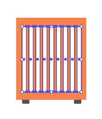 Tutorial Cara Menggambar Ikon Vektor Mesin Cuci dengan Adobe Illustrator-58