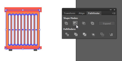 Tutorial Cara Menggambar Ikon Vektor Mesin Cuci dengan Adobe Illustrator-63